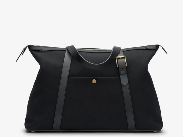 M/S Holdall - Coal/Black