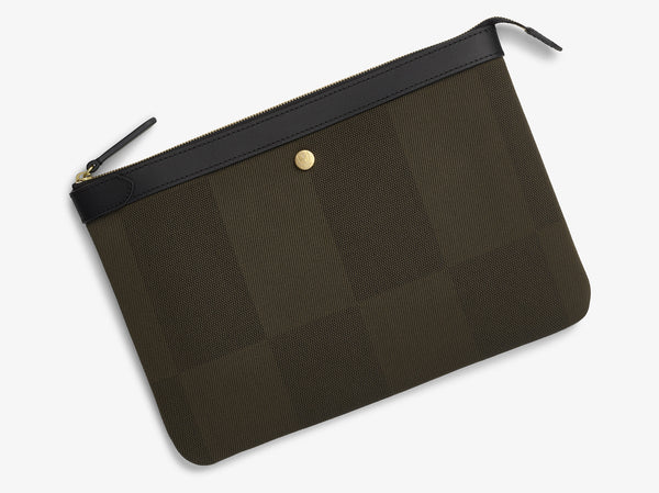 M/S Pouch Large – King's Green/Black