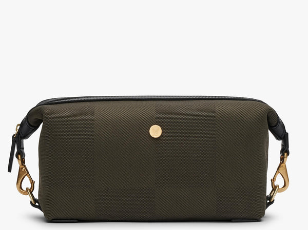 M/S Washbag – King's Green/Black