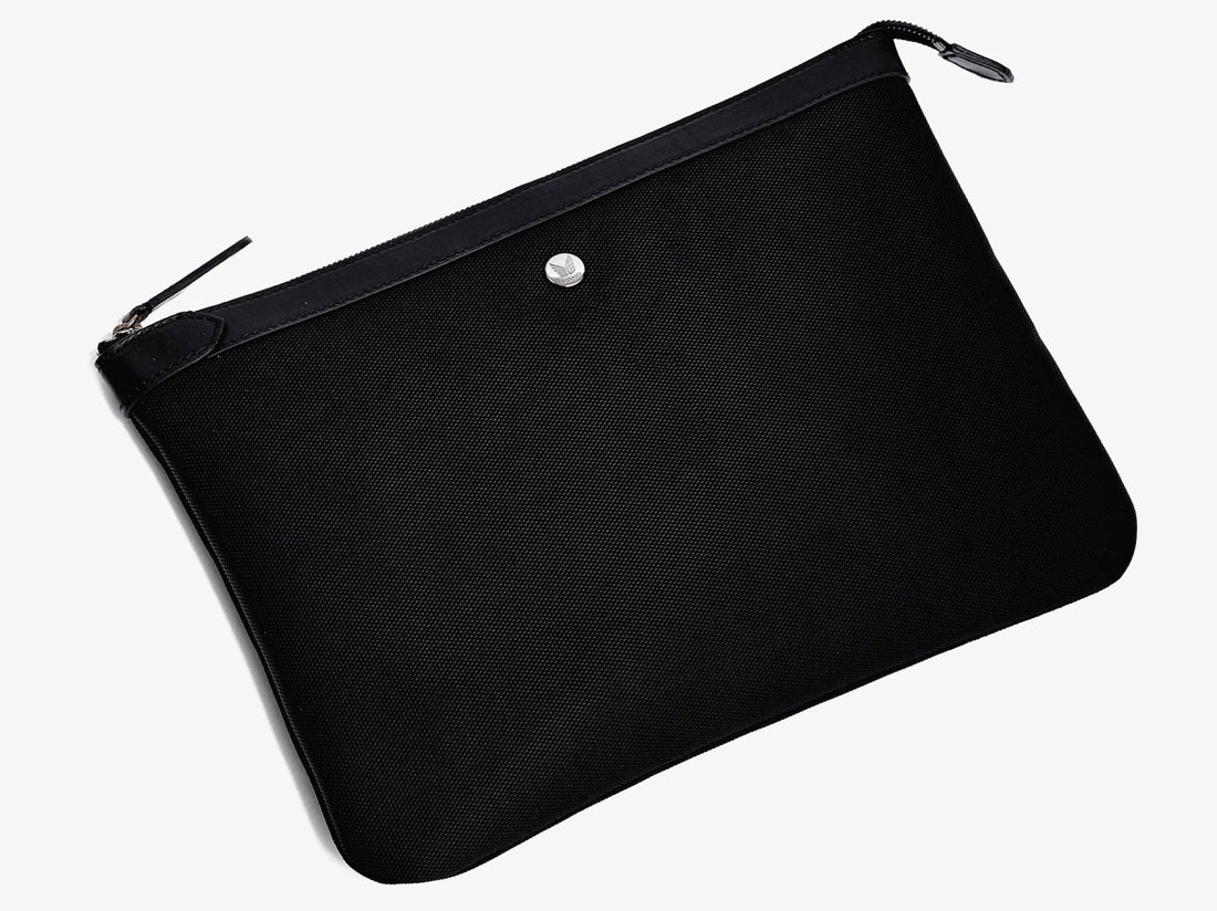 M/S Pouch Large  -  Black/Black -  Laptop cover - Mismo