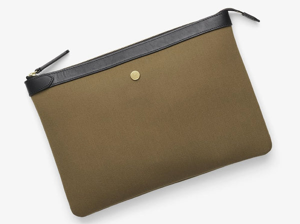 M/S Pouch Large - Khaki/Black -  Laptop cover - Mismo