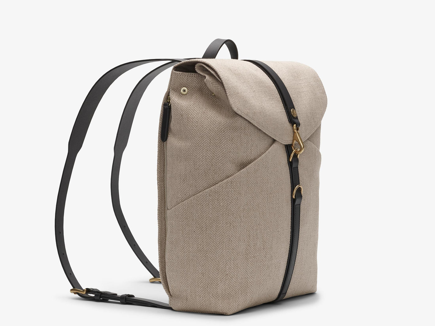M/S Rucksack – Grand Herringbone/Black