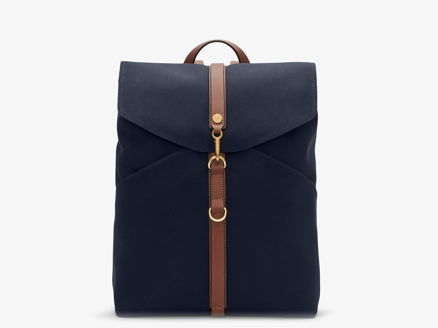 M/S Rucksack – Midnight blue/Cuoio