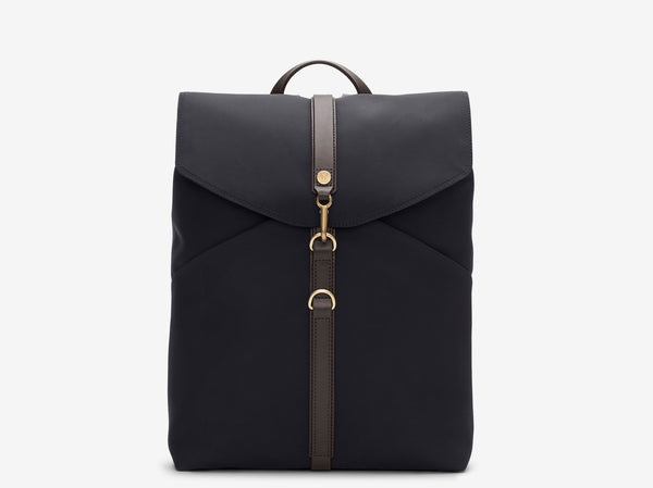 M/S Rucksack – Navy/Dark brown
