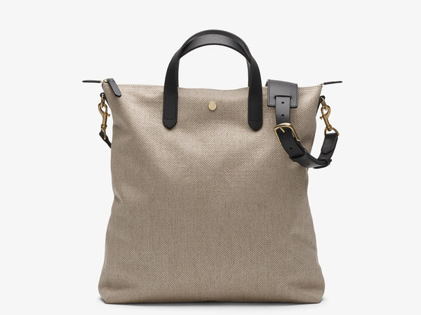 M/S Shopper – Grand Herringbone/Black