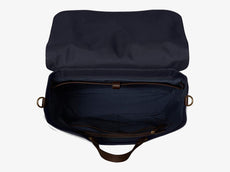M/S Satchel – Navy/Dark Brown -  Briefcase - Mismo