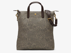 M/S Shopper - Sand waves/Dark brown