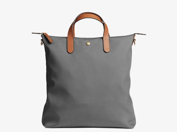 M/S Shopper - Concrete/Cuoio -  Tote bag - Mismo