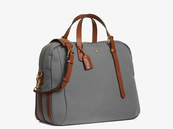 M/S Something - Concrete/Cuoio -  Travel bag - Mismo