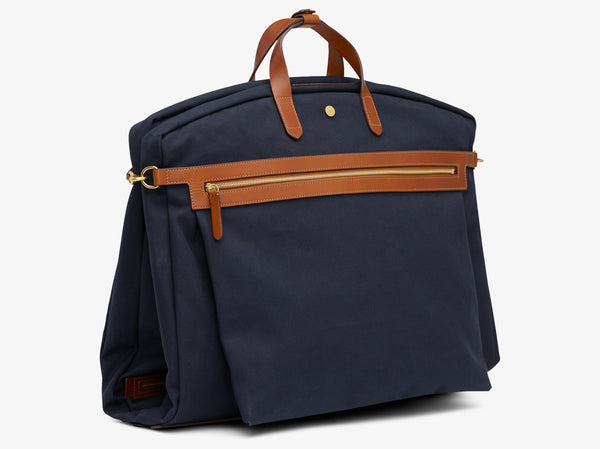 M/S Suit Carrier - Midnight blue/Cuoio -  Suit carrier - Mismo