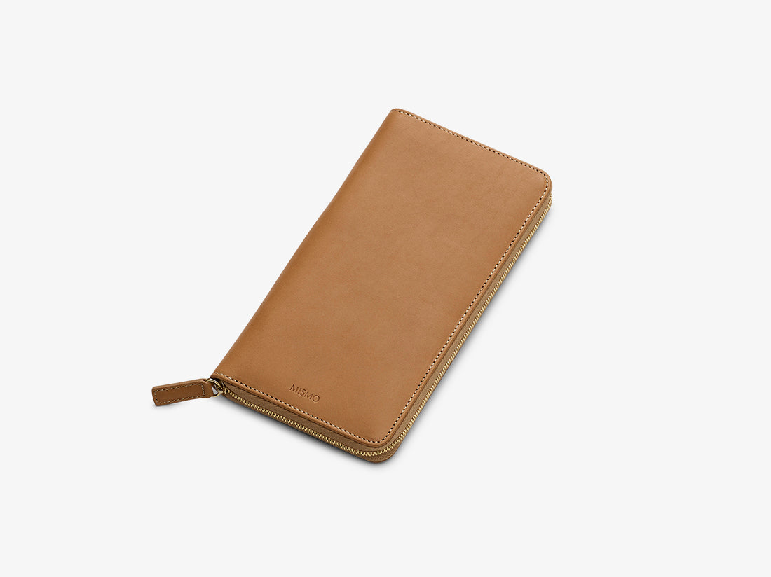 Travel Wallet - Natural