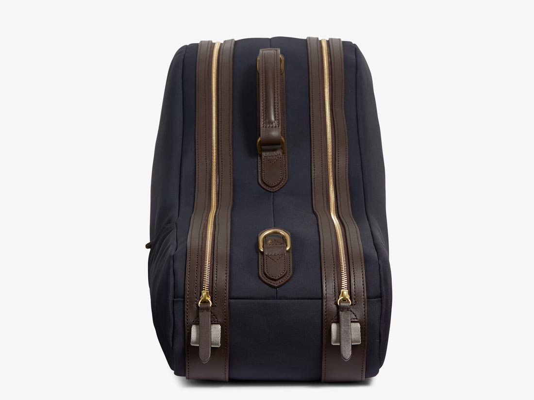 M/S Tennis - Navy/Dark Brown -  Travel bag - Mismo