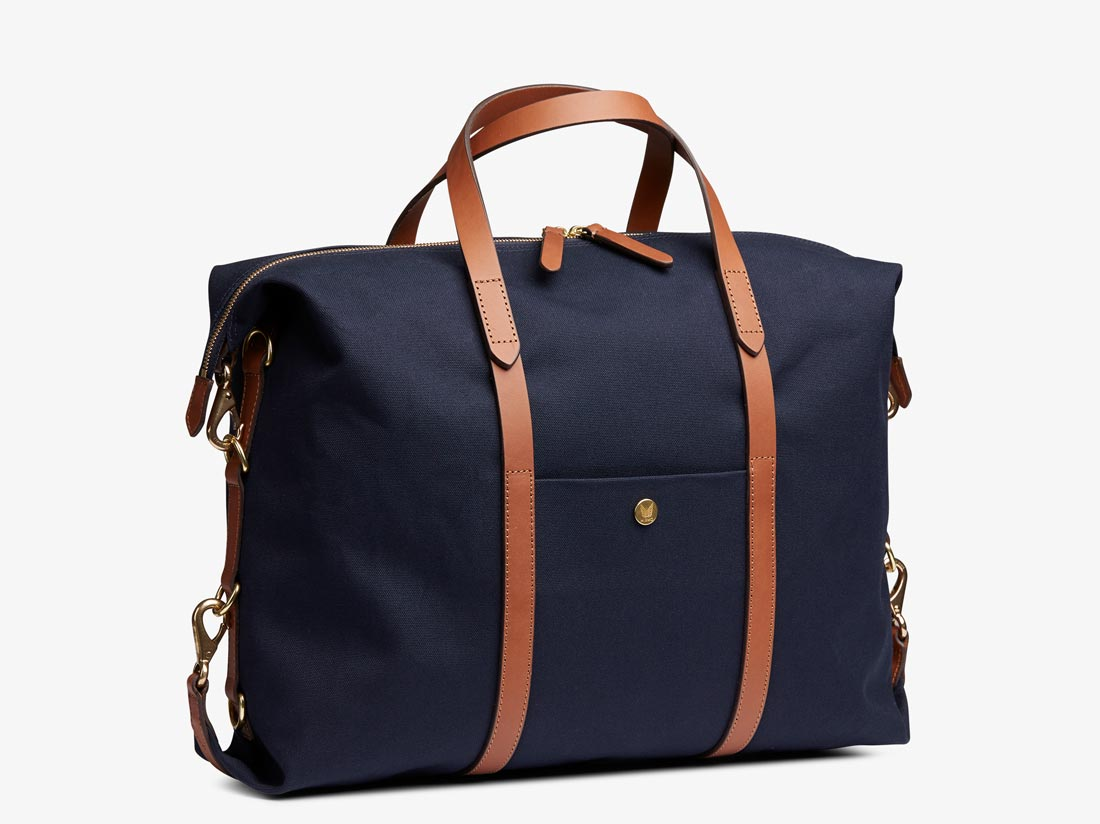 M/S Utility - Midnight blue/Cuoio -  Tote bag - Mismo