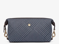 M/S Washbag - Appear Jacquard/Dark brown