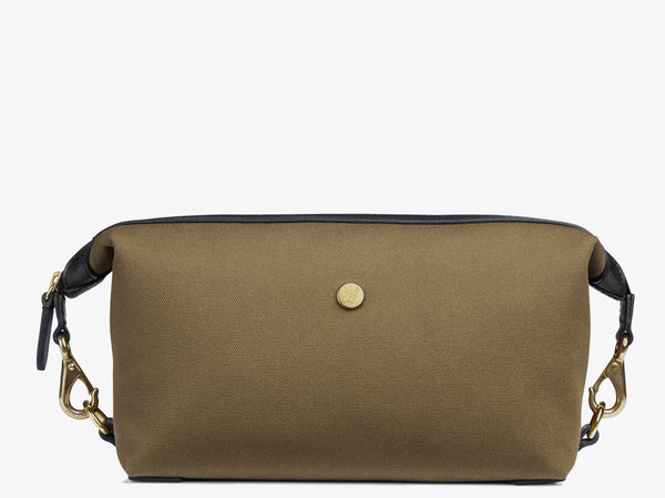 M/S Washbag - Khaki/Black