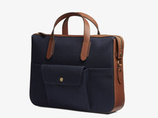 M/S Briefcase - Midnight blue/Cuoio -  Briefcase - Mismo