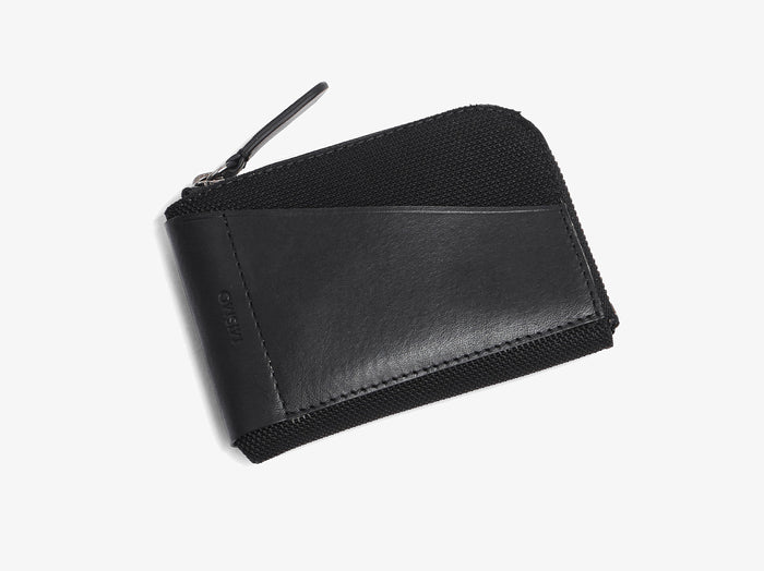 M/S Cards & Coins – Black/Black -  Wallet - Mismo