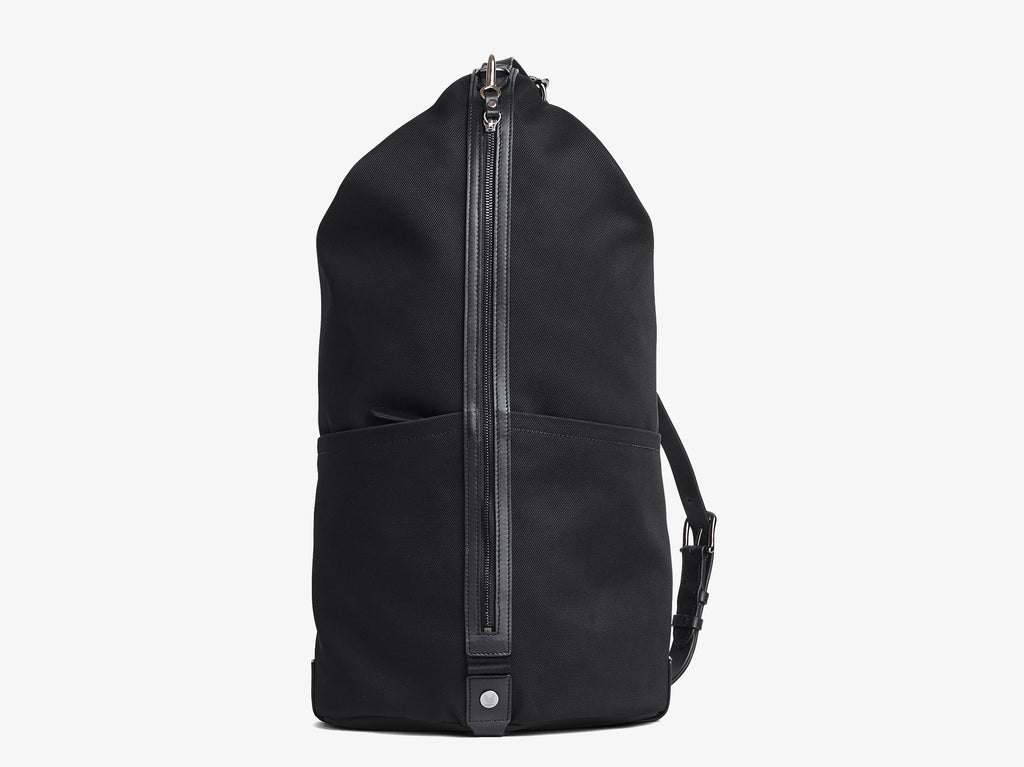 M/S CARPET BAG – Black/Black - Backpack - Mismo - 1
