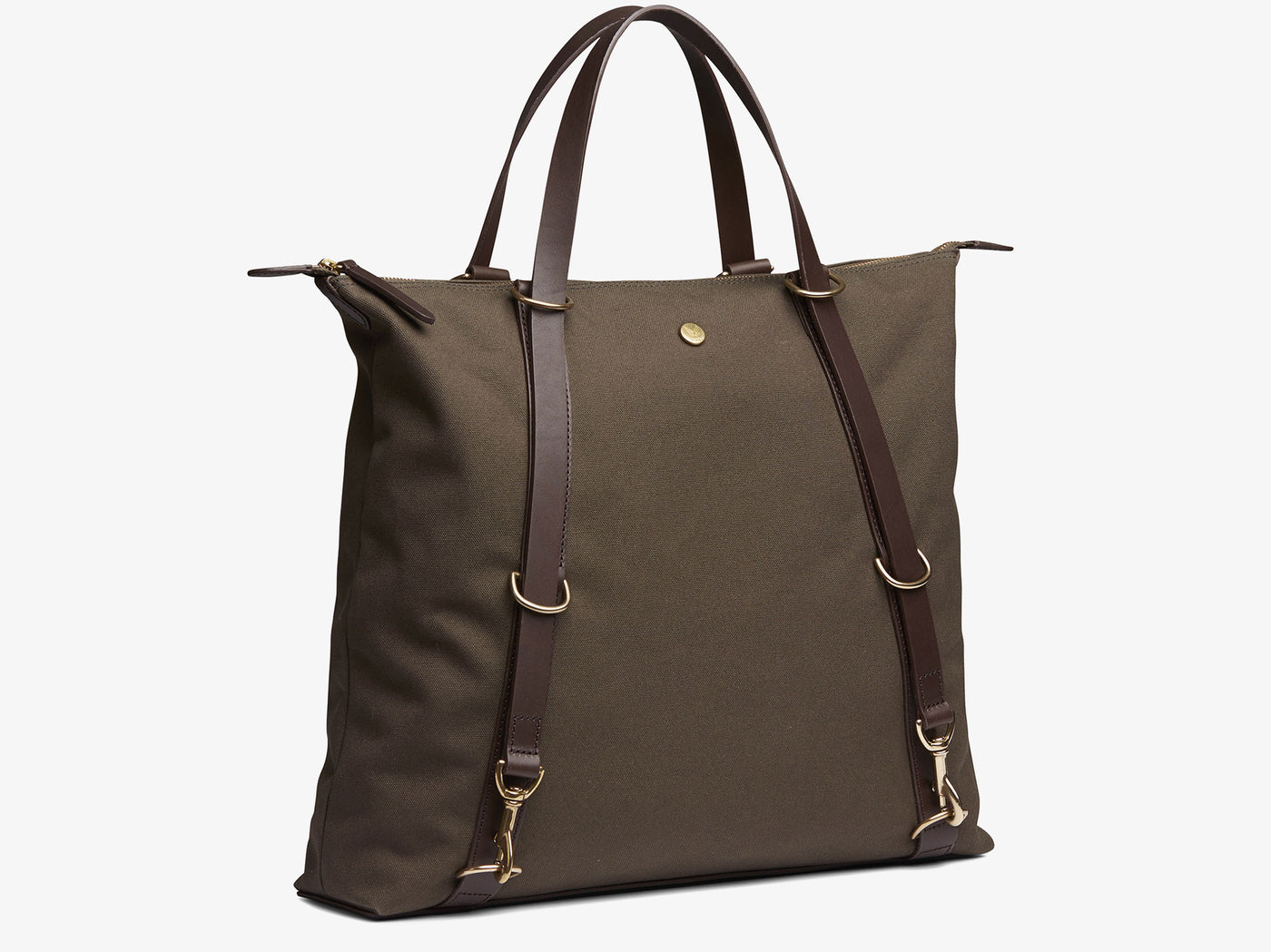 M/S Day Pack – Army/Dark Brown -  Tote bag - Mismo