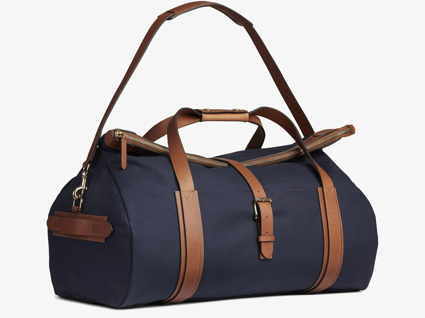 M/S Explorer - Midnight blue/Cuoio -  Travel bag - Mismo