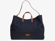 M/S Haven - Midnight blue/Cuoio -  Travel bag - Mismo
