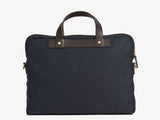 M/S Office - Navy/Dark Brown - Briefcase - Mismo - 3