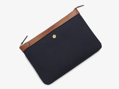 M/S Pouch - Midnight blue/Cuoio -  Accessories - Mismo