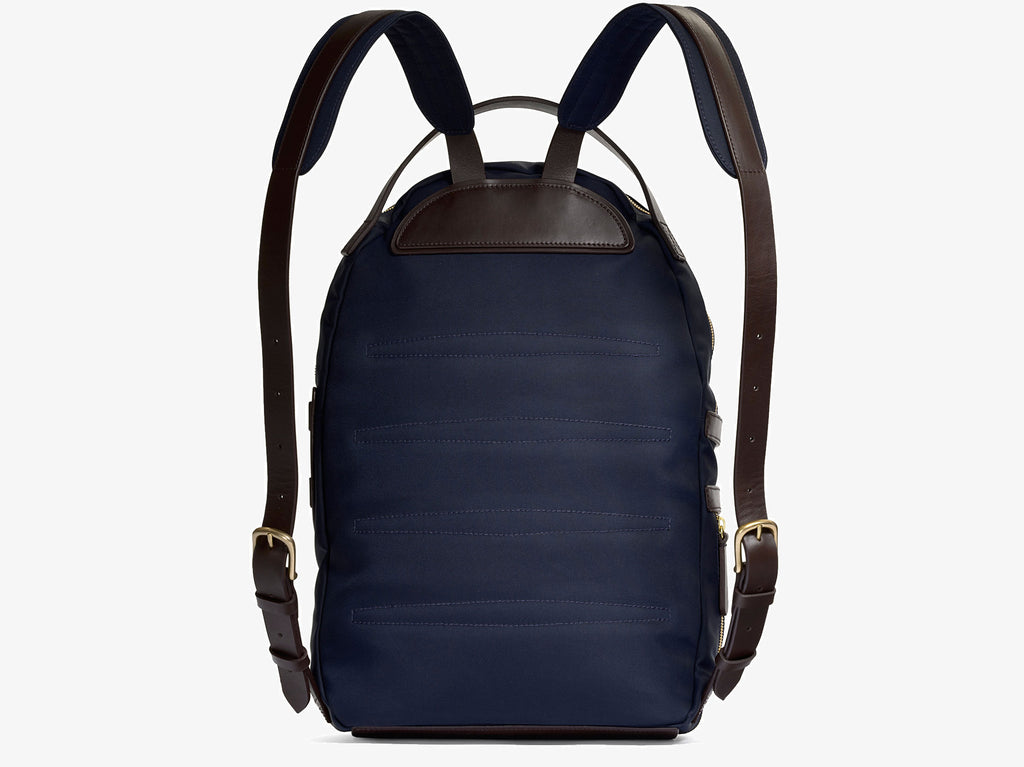 M/S Sprint – Navy/Dark brown - Backpack - Mismo - 2