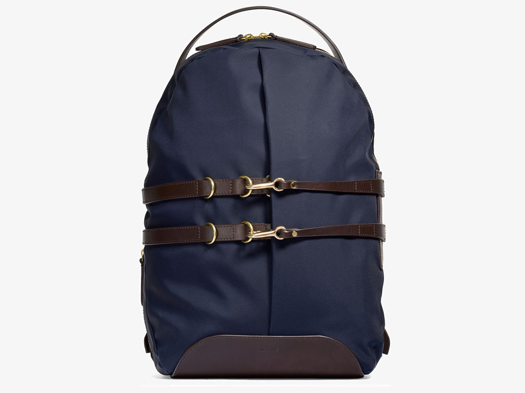 M/S Sprint – Navy/Dark brown - Backpack - Mismo - 1