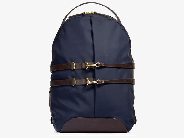 M/S Sprint – Navy/Dark brown -  Backpack - Mismo