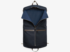 M/S Suit Carrier - Navy/Dark Brown -  Suit carrier - Mismo