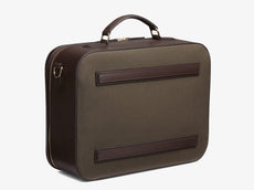 M/S Suitcase - Army/Dark brown -  Travel bag - Mismo