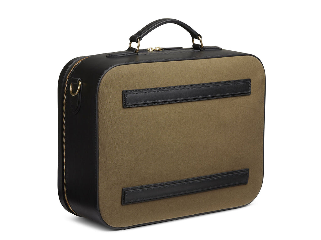 M/S Suitcase - Khaki/Black -  Travel bag - Mismo