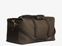 M/S Supply – Army/Dark brown -  Travel bag - Mismo