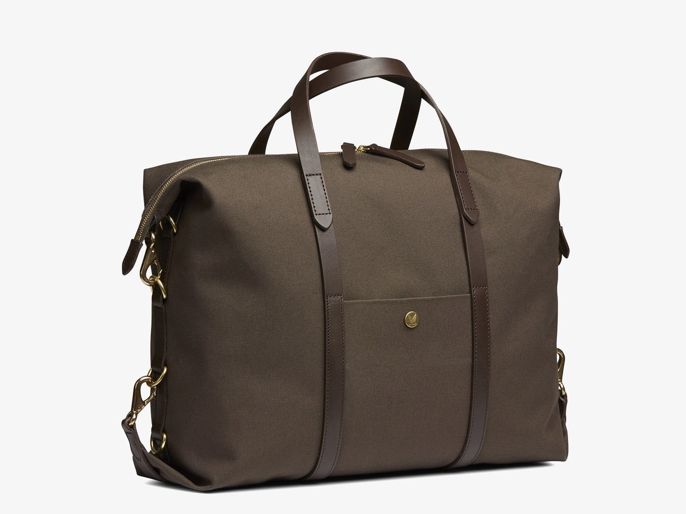 M/S Utility – Army/Dark brown -  Tote bag - Mismo