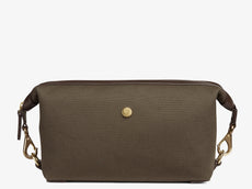 M/S Washbag – Army/Dark Brown -  Washbag - Mismo