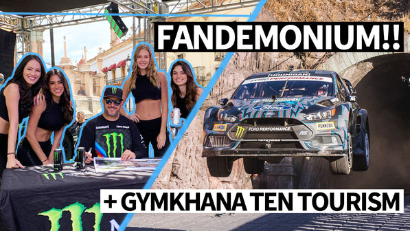 Ken Block Fandemonium! Rally Fans go Wild at WRC Mexico + Gymkhana TEN Film Location Tour