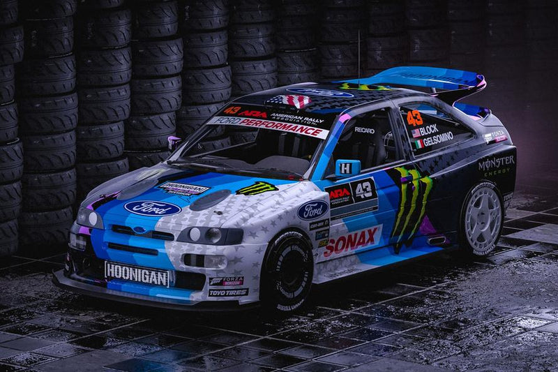 a3dfe22c8ae0 KEN BLOCK LAUNCHES ALL-NEW—AND WILD—FORD ESCORT RS COSWORTH WIDEBODY RALLY