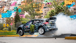 KEN BLOCK'S GYMKHANA TEN: ULTIMATE TIRE SLAYING TOUR NOW STREAMING WORLDWIDE ON HOONIGAN'S YOUTUBE CHANNEL