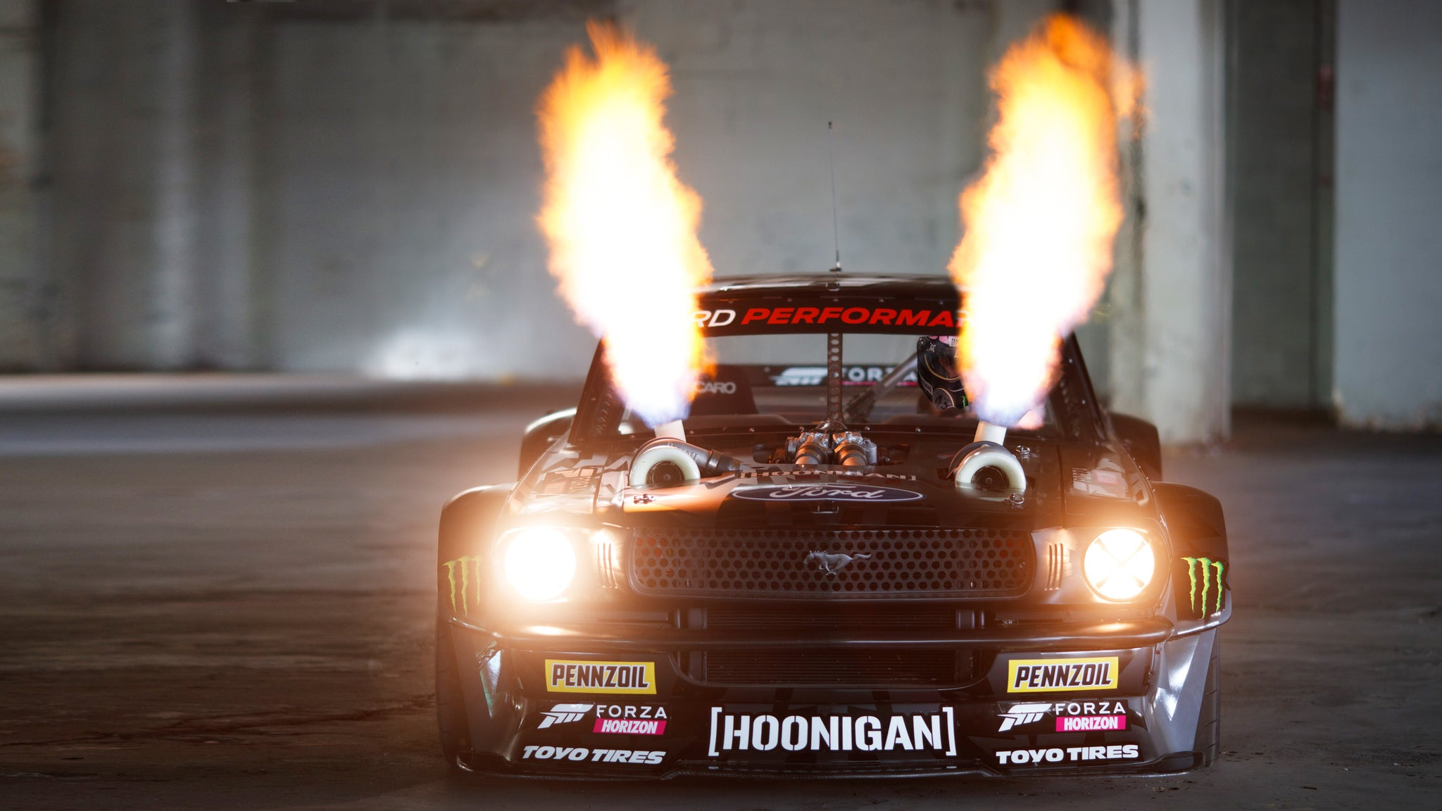 Hooni Yule Log Ken Block S 1 400hp Twin Turbo Awd Ford Mustang