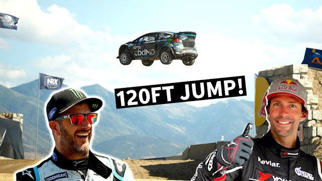 MOST INSANE RACETRACK IN THE WORLD: KEN BLOCK AND TRAVIS PASTRANA AT NITRO WORLD GAMES!
