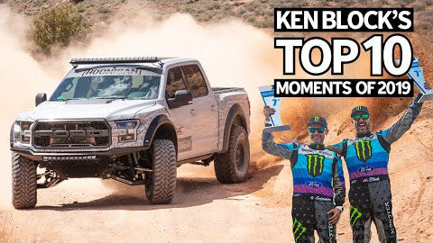Ken Block's Top 10 Favorite Moments of 2019: Part 1!