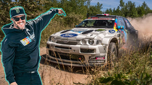 Ken Block Podiums w/ A Broken Toe! First Rally In Covid-19 Era