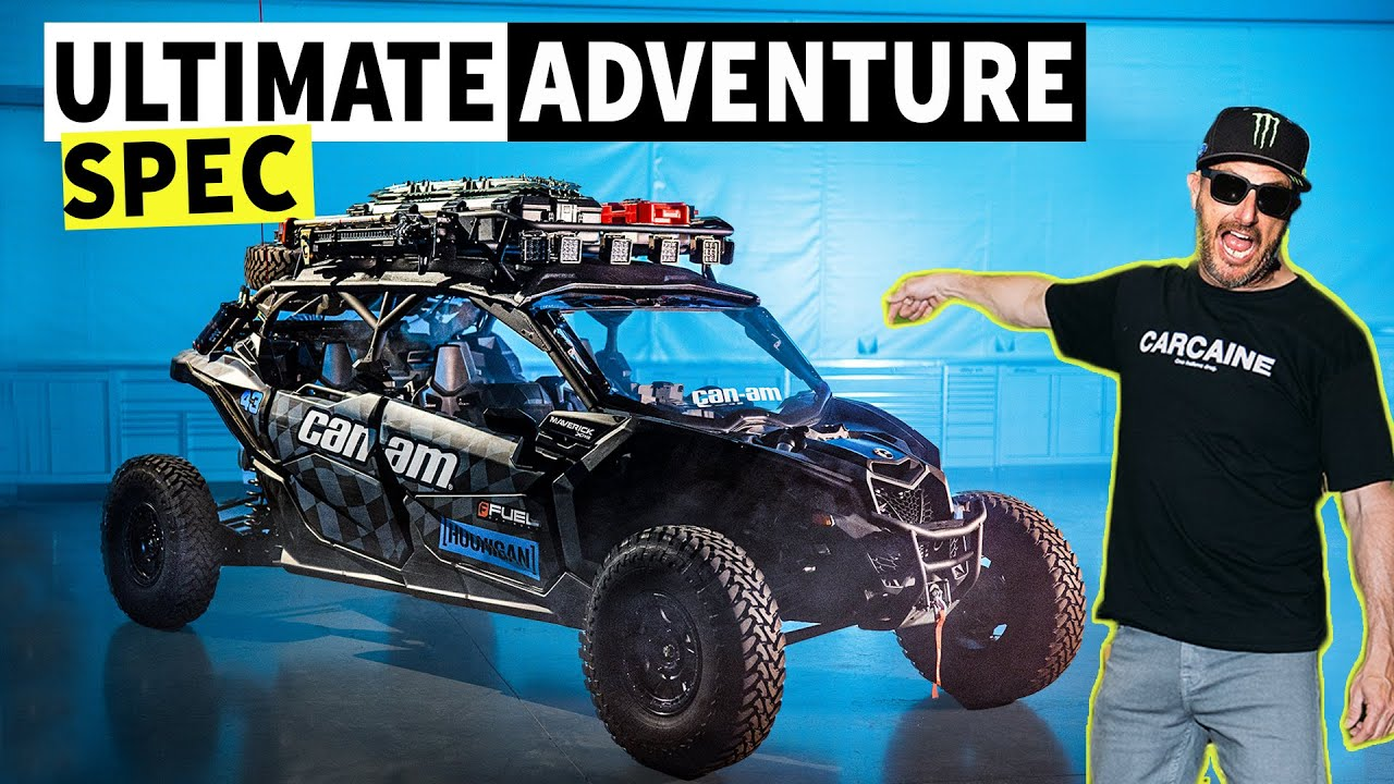 Ken Block's Ultimate Adventure Vehicle: 2021 Can-Am Maverick Overland Rig