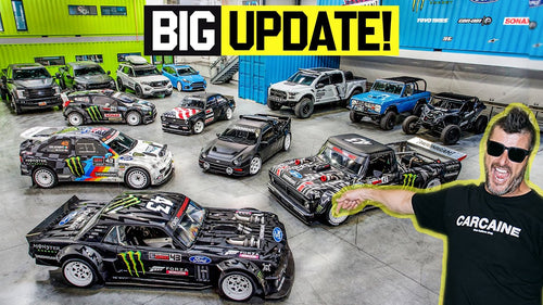 Ken Block's Entire Fleet Gets NEW Wheels - Full Tour!