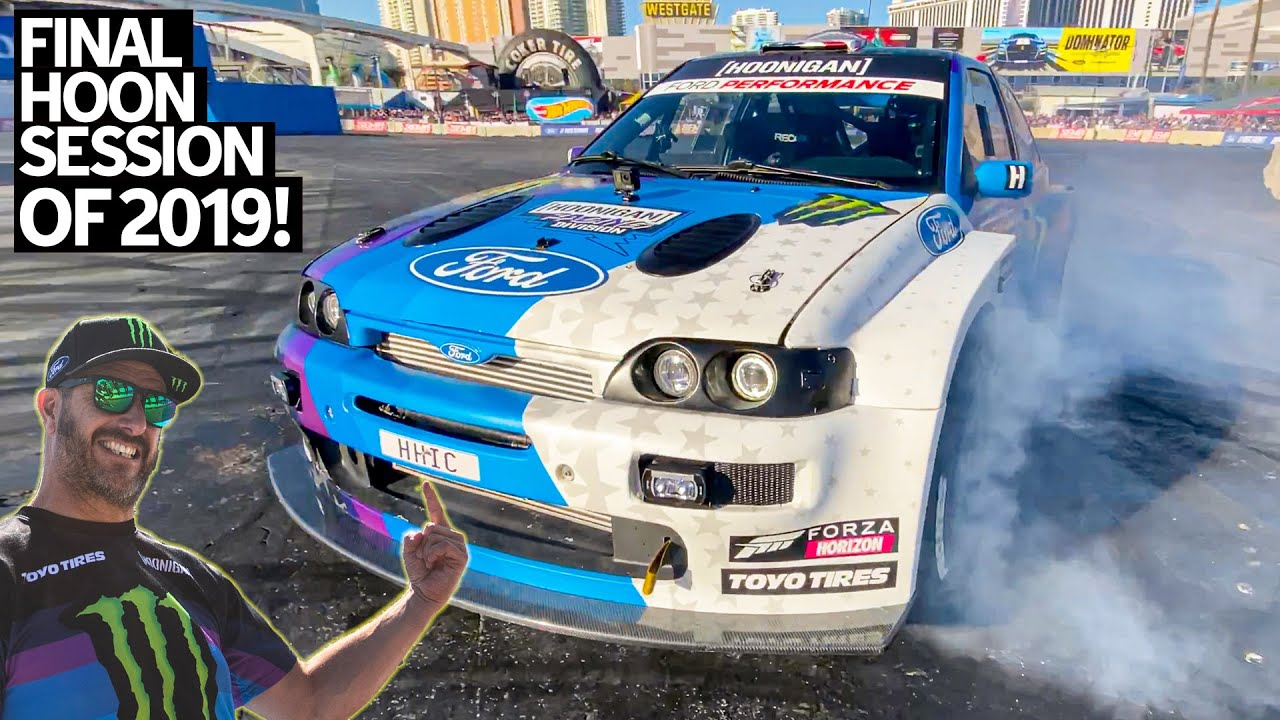 Ken Block's FINAL Round of the 2019 Cossie World Tour: the SEMA Show in Las Vegas!