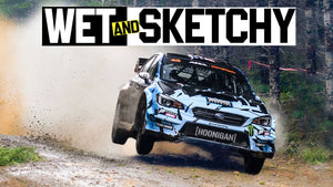 Carnage And Slippery Chaos at Ken Block's First Race Back in A Subaru