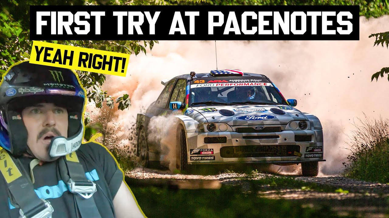 Rally Stage Notes Explained! Zac FAILS At Calling Notes For Ken Block