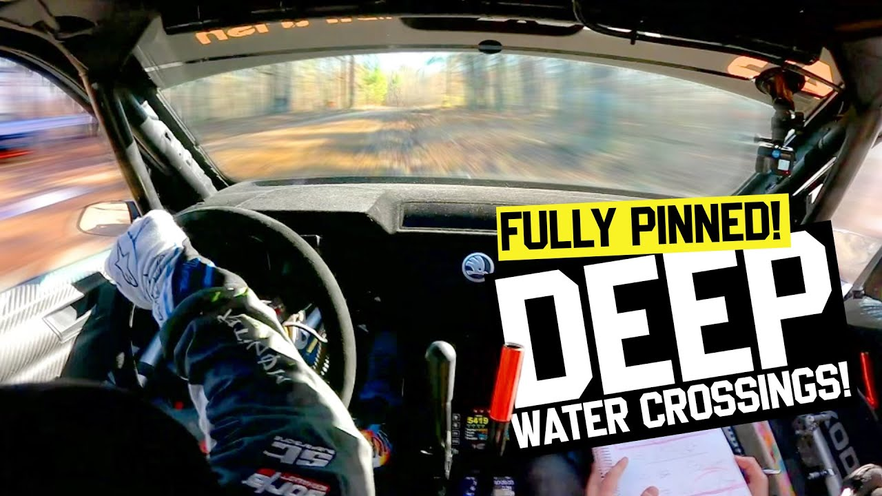Ken Block's Raw Onboard Rally Footage - SS12 - Rally in the 100 Acre Wood