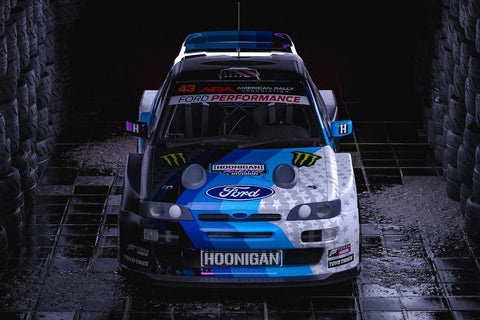 KEN BLOCK LAUNCHES ALL-NEW—AND WILD—FORD ESCORT RS COSWORTH